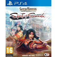 Portada oficial de Samurai Warriors: Spirit of Sanada para PS4