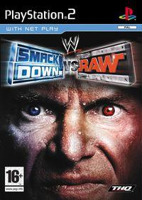 Portada oficial de WWE Smackdown! Vs. Raw para PS2