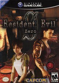 Portada oficial de Resident Evil Zero para GameCube