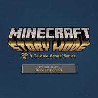 Portada oficial de Minecraft: Story Mode - Episode 7: Access Denied para PS4