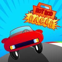 Portada oficial de Hot Rod Racer eShop para Wii U