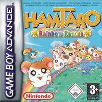 Portada oficial de Hamtaro: Rainbow Rescue para Game Boy Advance