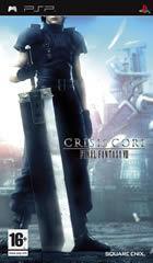 Portada oficial de de Crisis Core: Final Fantasy VII para PSP