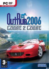Portada oficial de Outrun 2006 Coast 2 Coast para PC