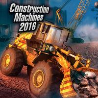 Portada oficial de Construction Machines 2016 para iPhone