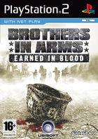 Portada oficial de de Brothers in Arms: Earned in Blood para PS2