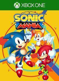 Portada oficial de Sonic Mania para Xbox One