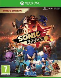 Portada oficial de Sonic Forces para Xbox One