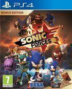 Portada oficial de de Sonic Forces para PS4