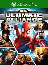 Portada oficial de Marvel: Ultimate Alliance para Xbox One
