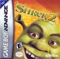 Portada oficial de Shrek 2: Suplicad Piedad para Game Boy Advance