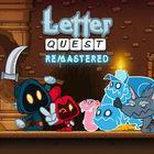 Portada oficial de de Letter Quest Remastered eShop para Wii U