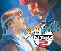 Portada oficial de Street Fighter Alpha 2 CV para Nintendo 3DS