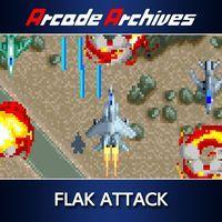 Portada oficial de Arcade Archives FLAK ATTACK para PS4
