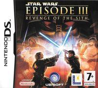 Portada oficial de Star Wars: Revenge of the Sith para NDS