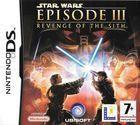 Portada oficial de de Star Wars: Revenge of the Sith para NDS