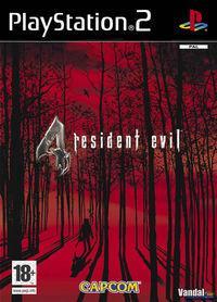 Portada oficial de Resident Evil 4 para PS2