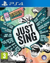 Portada oficial de Just Sing para PS4