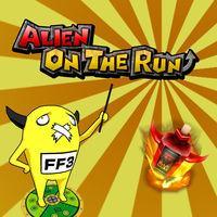 Portada oficial de Alien on the run eShop para Nintendo 3DS