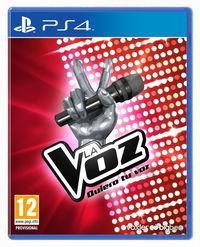 Portada oficial de La Voz - Quiero tu voz para PS4