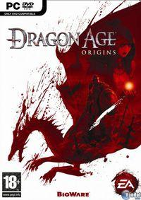 Portada oficial de Dragon Age: Origins para PC