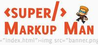 Portada oficial de Super Markup Man para PC