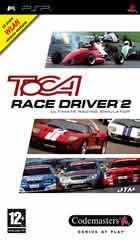 Portada oficial de de TOCA Race Driver 2 para PSP