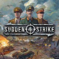 Portada oficial de Sudden Strike 4 para PS4