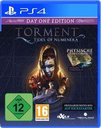 Portada oficial de Torment: Tides of Numenera para PS4