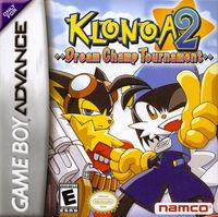 Portada oficial de Klonoa 2 para Game Boy Advance