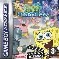 Portada oficial de Bob Esponja y sus Amigos: La Cámara Loca para Game Boy Advance