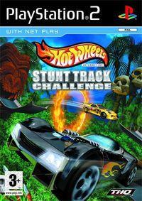 Portada oficial de Hot Wheels Stunt Track Challenge para PS2