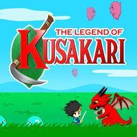 Portada oficial de The Legend of Kusakari eShop para Nintendo 3DS