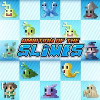 Portada oficial de Ambition of the Slimes eShop para Nintendo 3DS