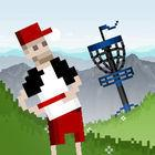 Portada oficial de de Pixel Disc Golf 2 para iPhone