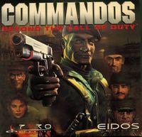 Portada oficial de Commandos: Más Allá del Deber para PC