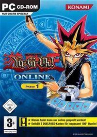 Portada oficial de Yu-Gi-Oh! Online para PC
