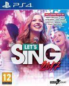 Portada oficial de de Let's Sing 2017 para PS4