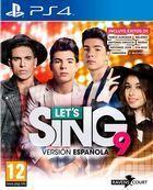 Portada oficial de de Let's Sing 9 Versión Española para PS4