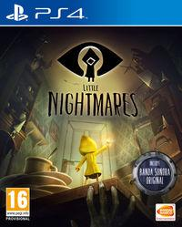 Portada oficial de Little Nightmares para PS4