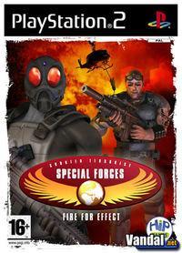 Portada oficial de CT Special Forces: Fire For Effect para PS2