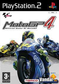Portada oficial de Moto GP 4 para PS2