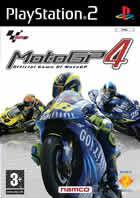 Portada oficial de de Moto GP 4 para PS2