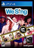 Portada oficial de de We Sing para PS4