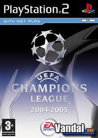 Portada oficial de Uefa Champions League 2004 - 2005 para PS2
