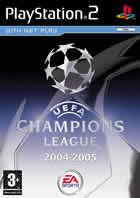 Portada oficial de de Uefa Champions League 2004 - 2005 para PS2