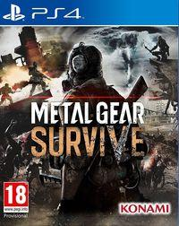 Portada oficial de Metal Gear Survive para PS4