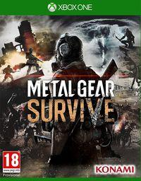 Portada oficial de Metal Gear Survive para Xbox One