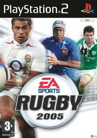 Portada oficial de Rugby 2005 para PS2