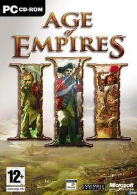 Portada oficial de Age of Empires 3 para PC